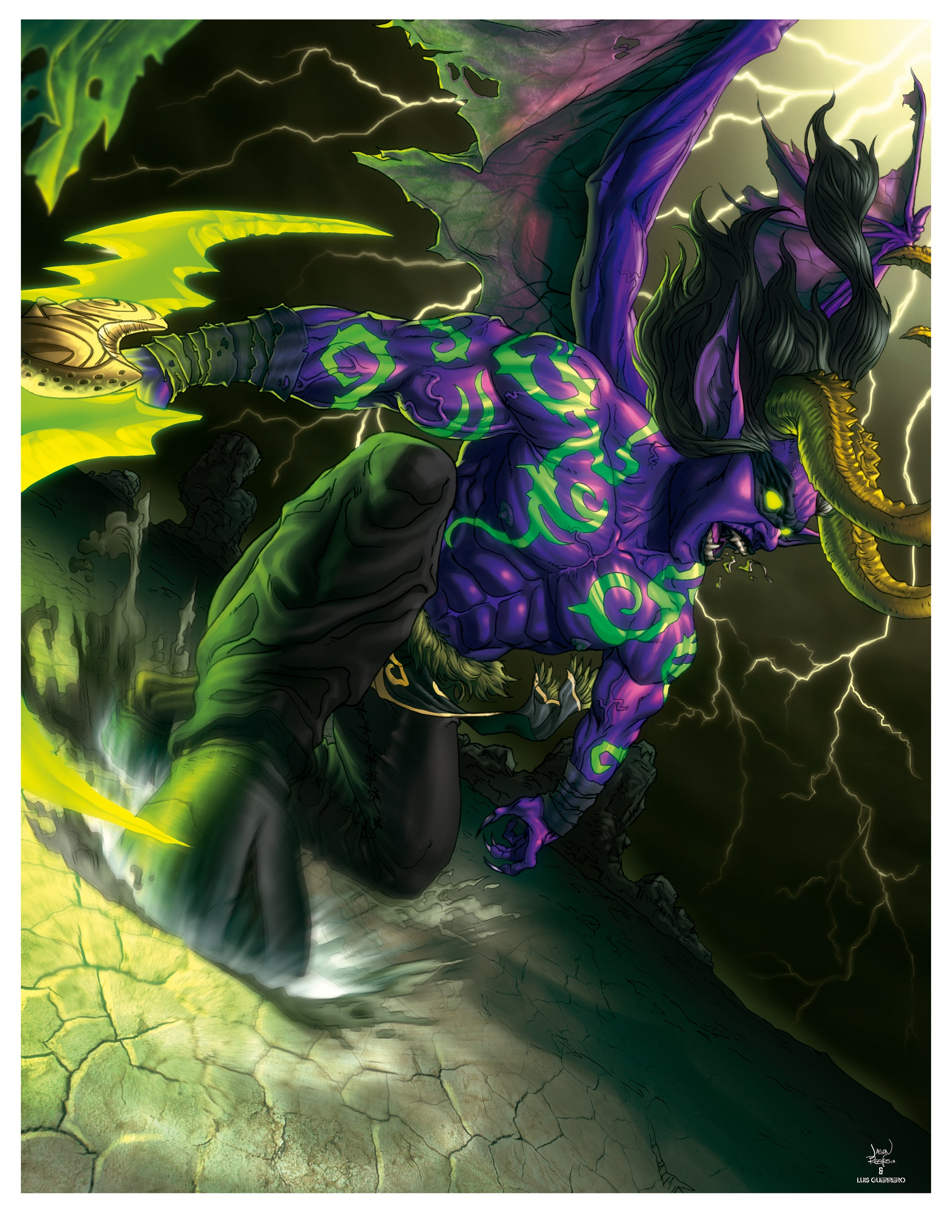 Image of Stormrage (Poster/Print)