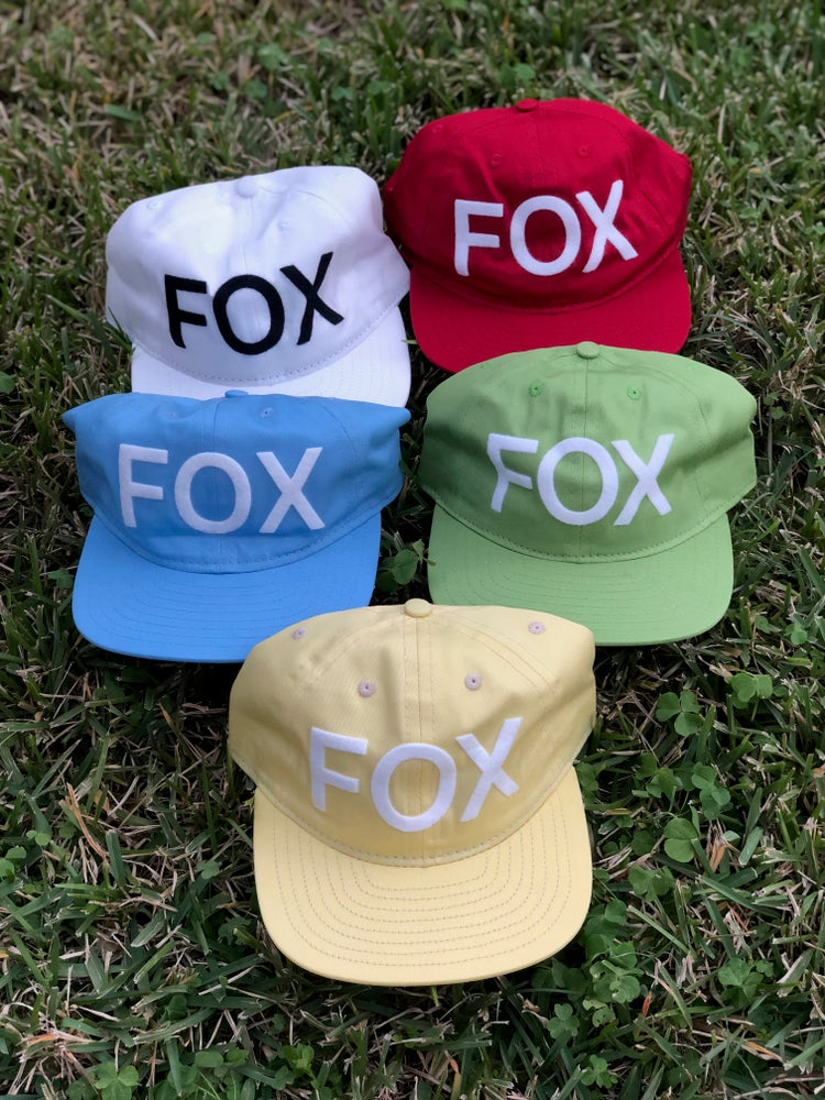 Image of FOX Hats in Honor of Christopher Clinton Fox