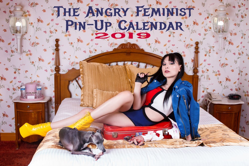 Image of 2019 Angry Feminist Pin-Up Calendar