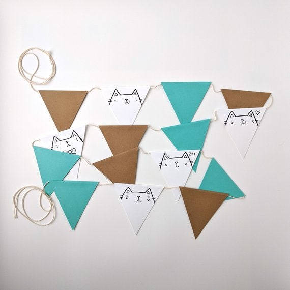 Image of migration x yeiou cute cat bunting kit