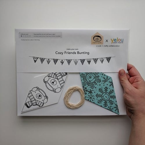 Image of migration x yeiou cozy friends bunting kit