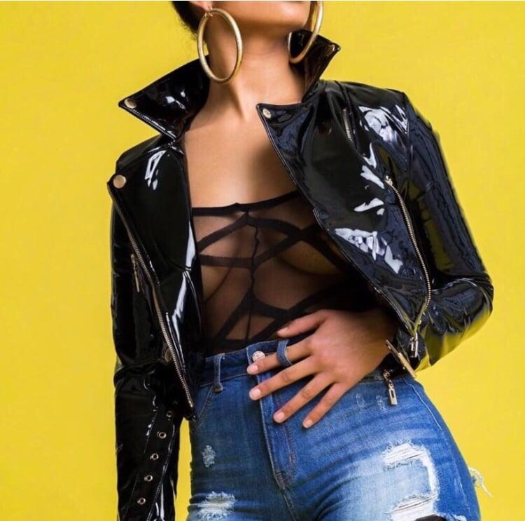 Diana Latex Jacket