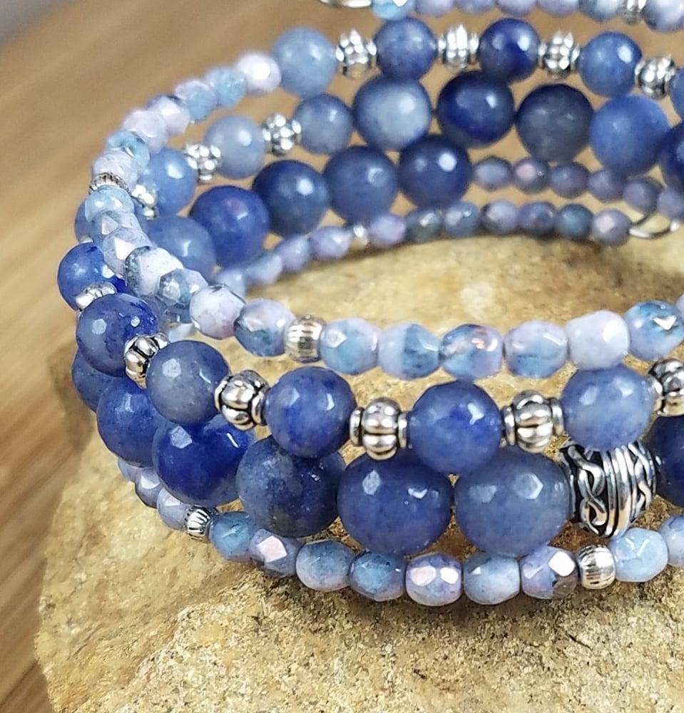 Image of Blue Aventurine  Bracelet