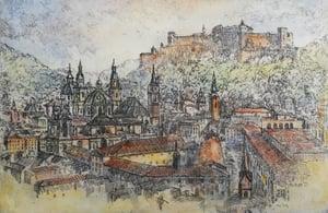 Image of City View, Salzburg