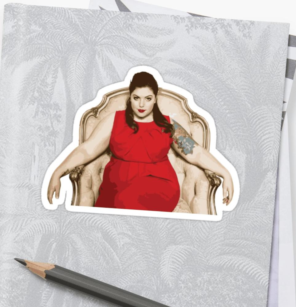 Image of Mary Lambert Sticker