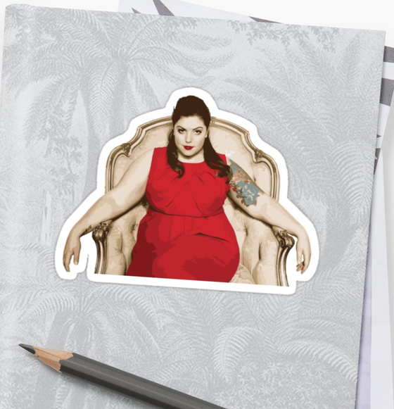 Image of Mary Lambert Sticker