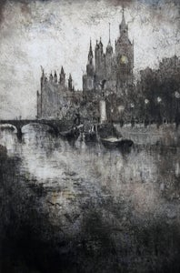 Image of Evening at Westminster, London, England