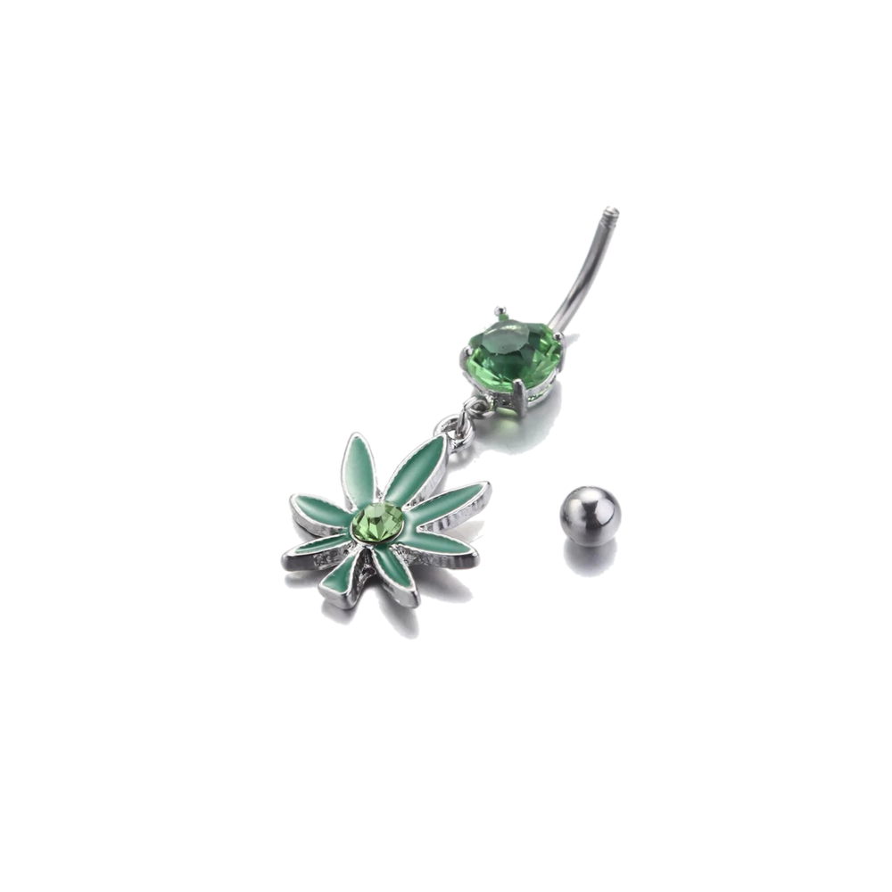 Image of Pot Leaf Belly button rings!!