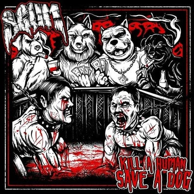 Image of SCUM: Kill a human Save a Dog - shirt