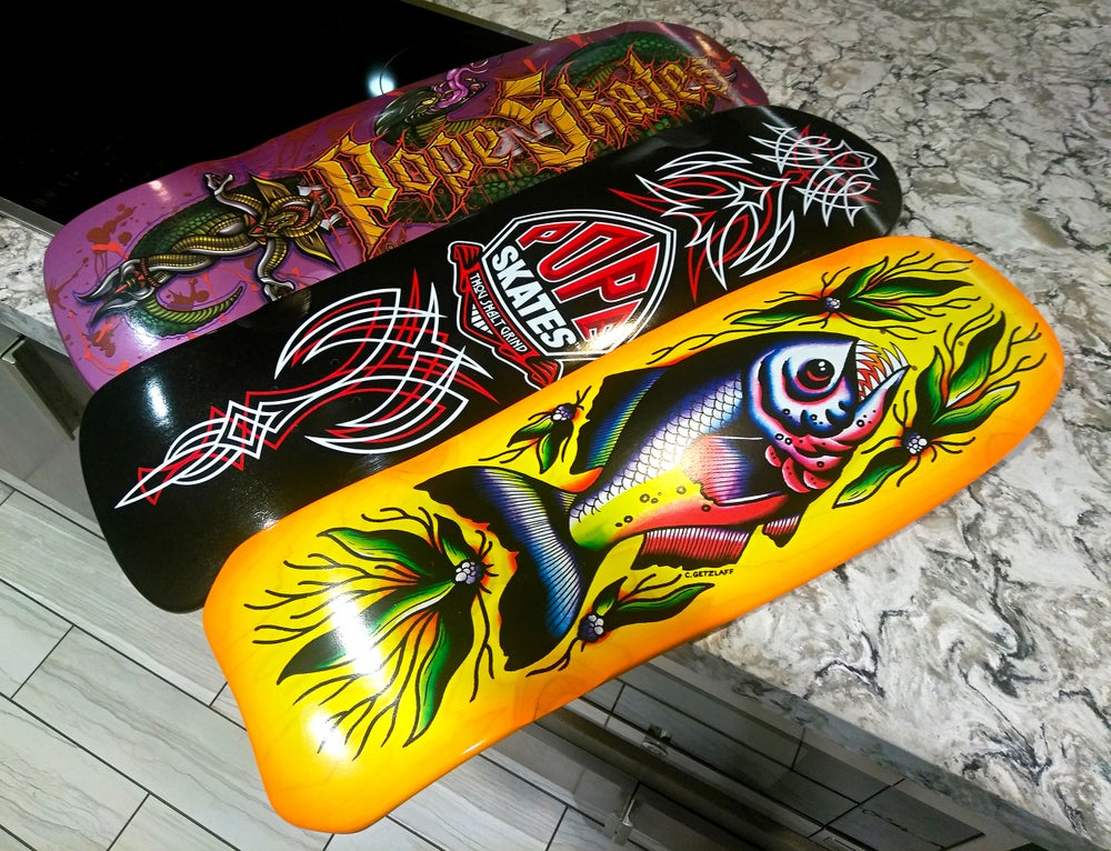 Image of Hot Rod Pinstripe Deck