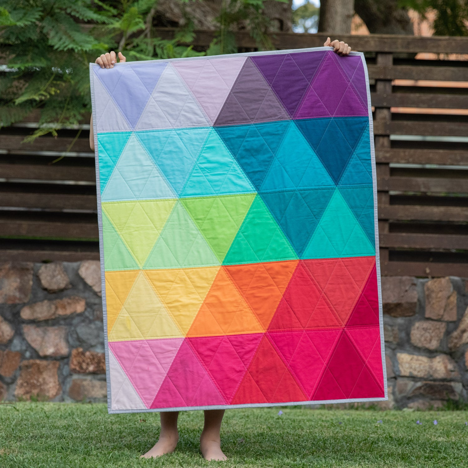 Image of OMBRE TRIANGLES XL