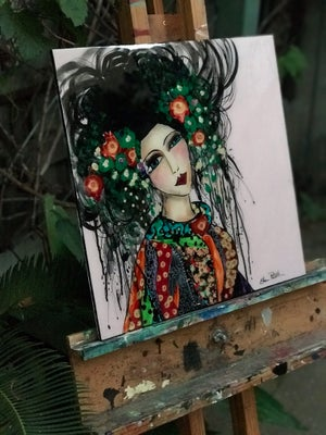 "Image of ""My Geisha Style"" 60cmx60cm SOLD"