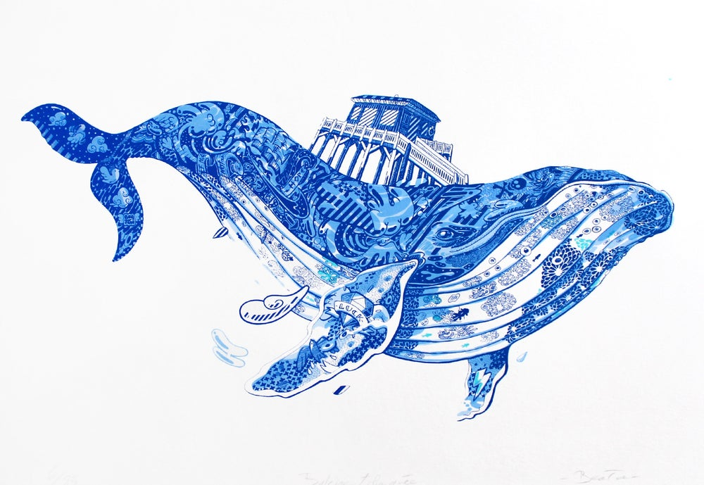 Image of Baleine Tchanquée / Blue Edition