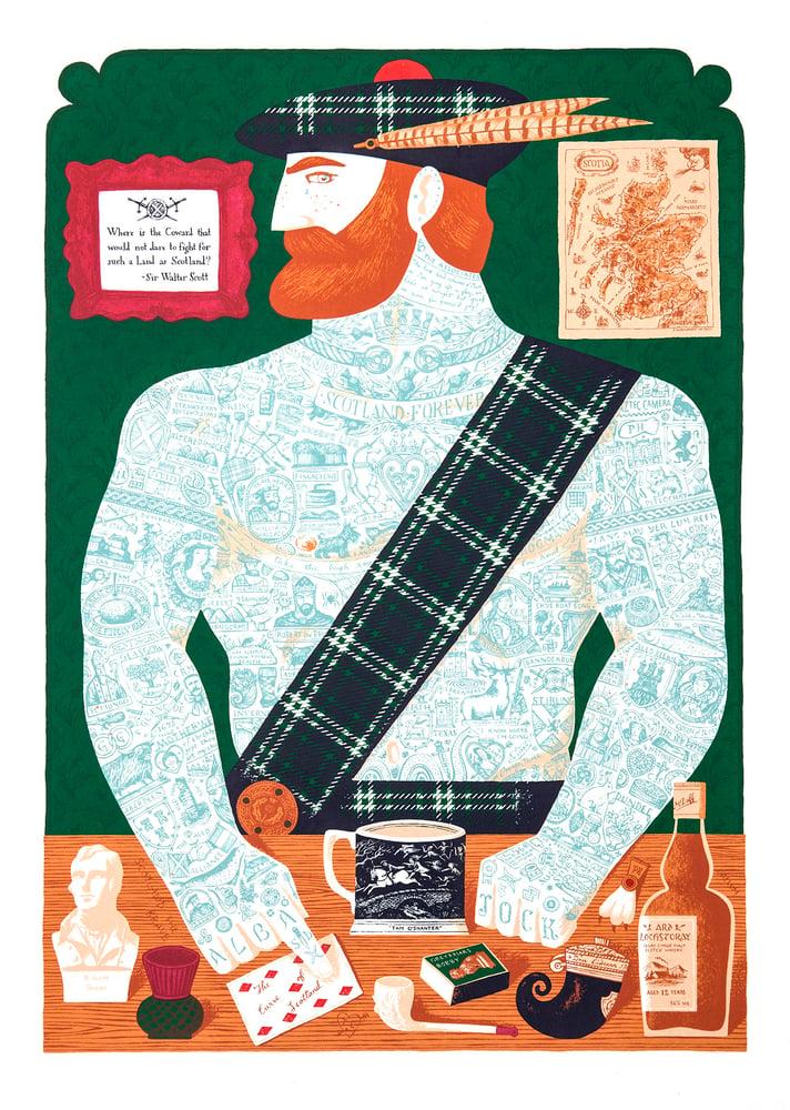 Image of Tattooed Scotsman