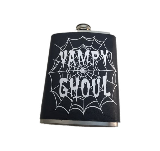 Image of Vampy Ghoul 8oz. Flask