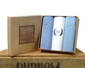 Image of Italian Cotton Handkerchiefs: Best Dad