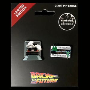 Image of Back to the Future enamel pin set (officially licensed)