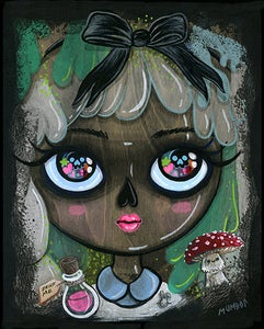 Image of Alice in Lichenland - Art Print - Open Edition