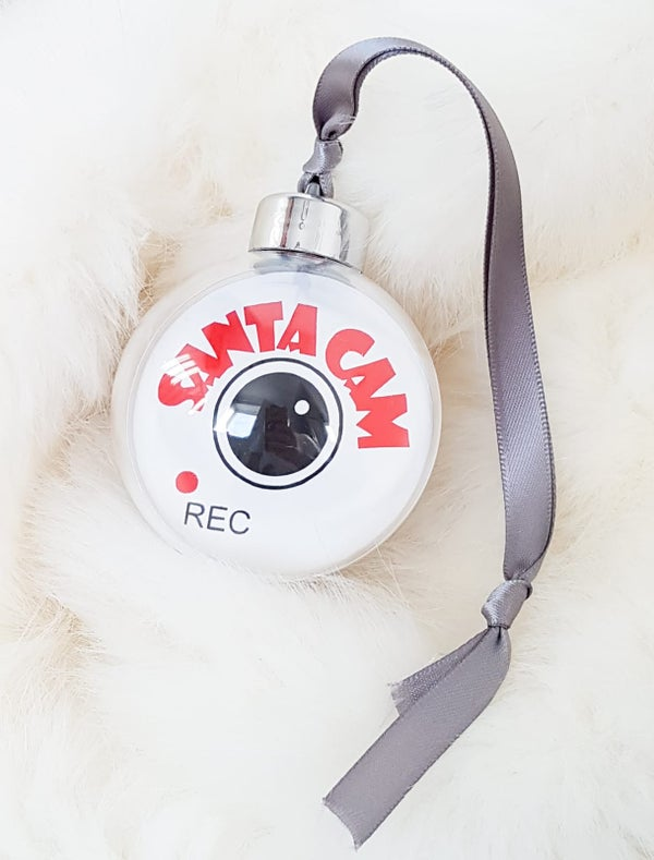 Image of Santa Cam Bauble