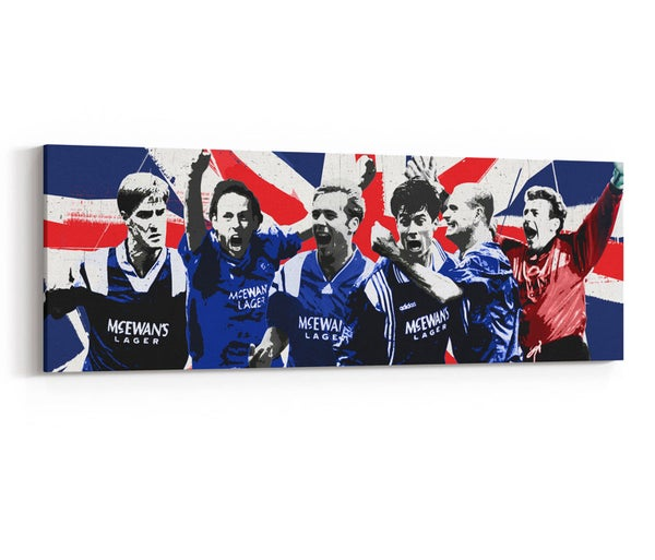Image of Nine In A Row - Union Flag Design