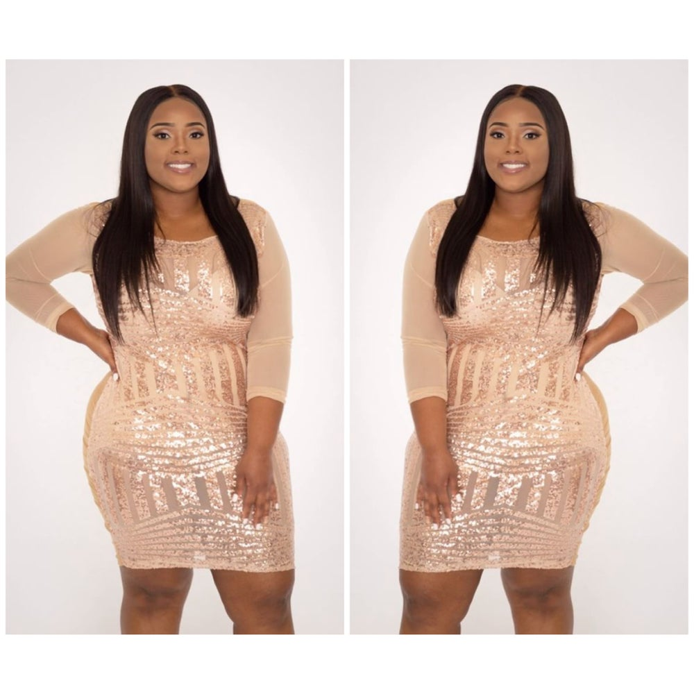 Image of Glitter Dress