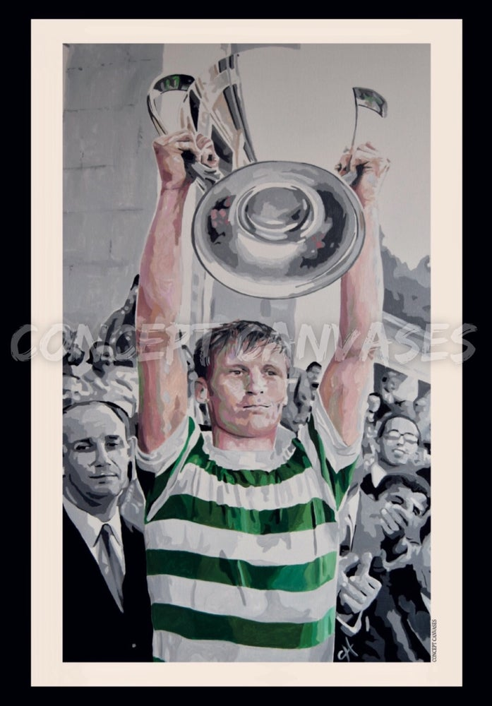 Image of Billy McNeill 'Legends Are Many, Icons Are Few' A3 Print 🍀LIMITED STOCK🍀