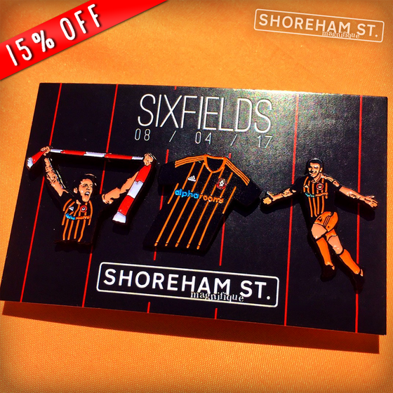 Image of Sixfields Pin Set