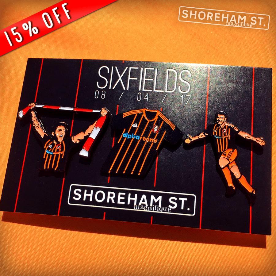 Image of Sixfields Pin Set