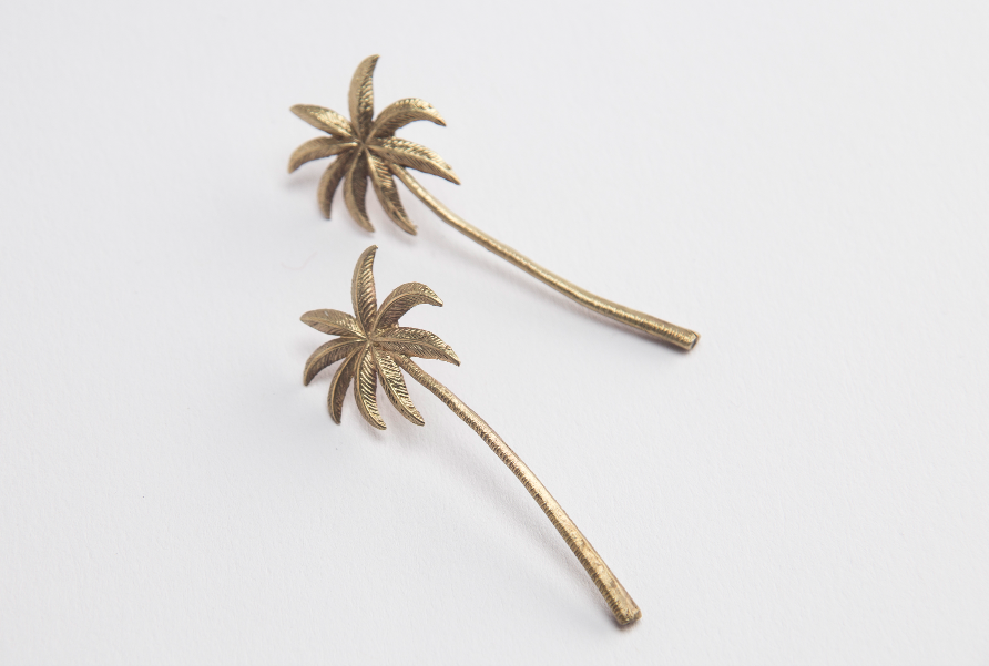 Image of Palms earrings - FREE SHIPPING