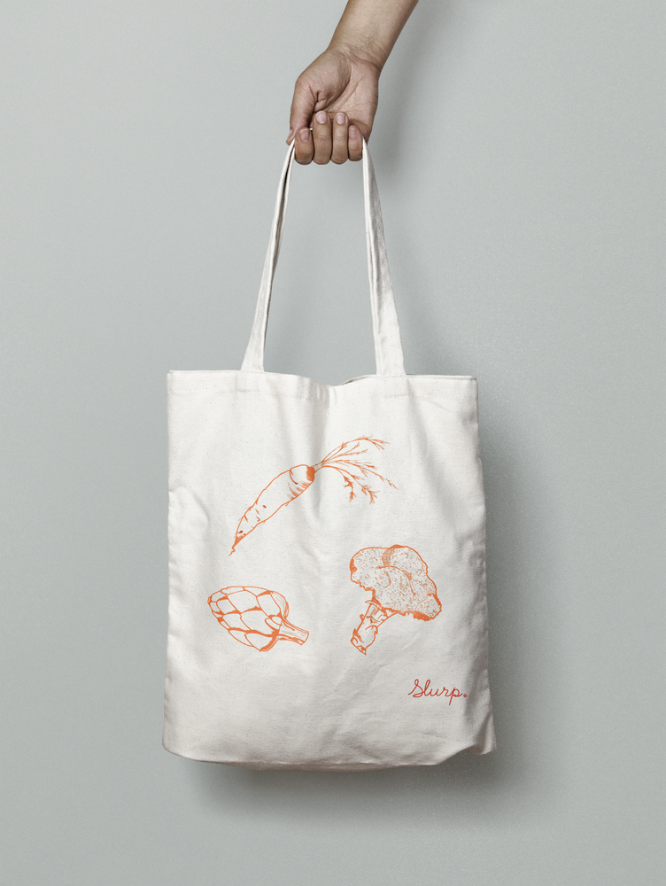 Image of Vegetable Medley Shopper Bag