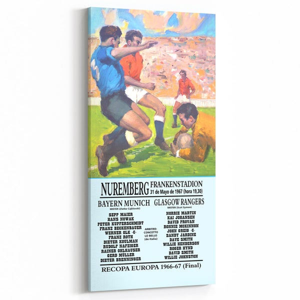 Image of 1967 European Cup Winners' Cup Final - Rangers v Bayern Munich