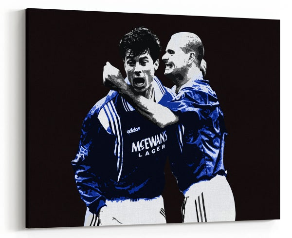Image of Paul Gascoigne & Brian Laudrup - Nine In A Row