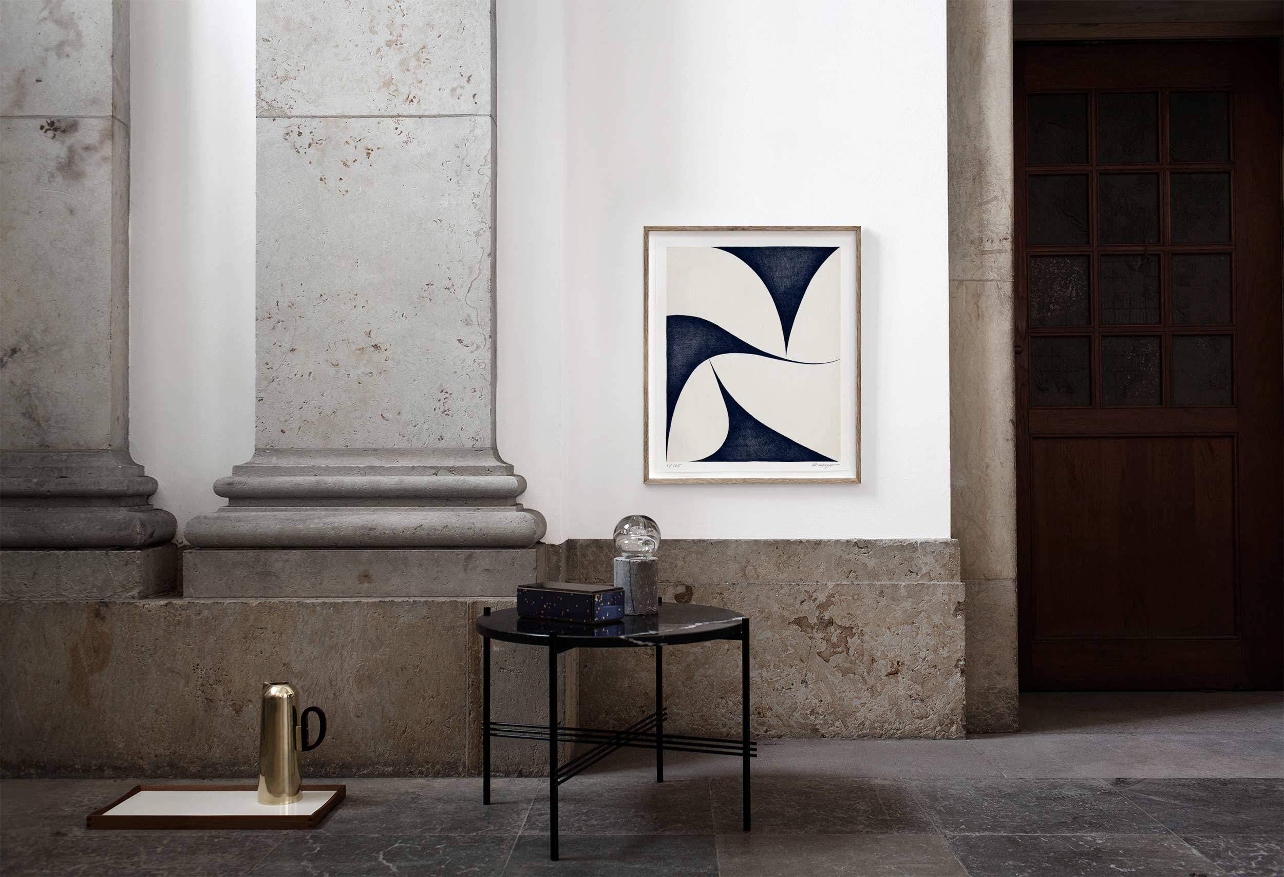 Image of Shapes · Blue (sold out)
