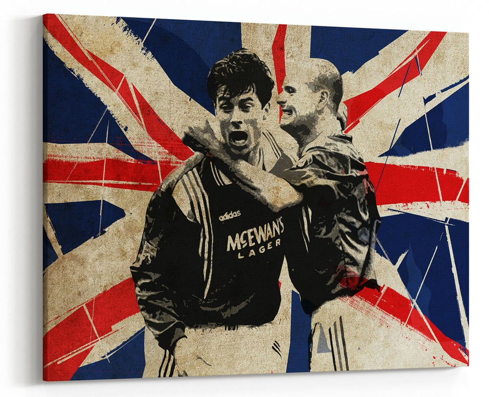 Image of Gazza/Laudrup - 9 in a Row
