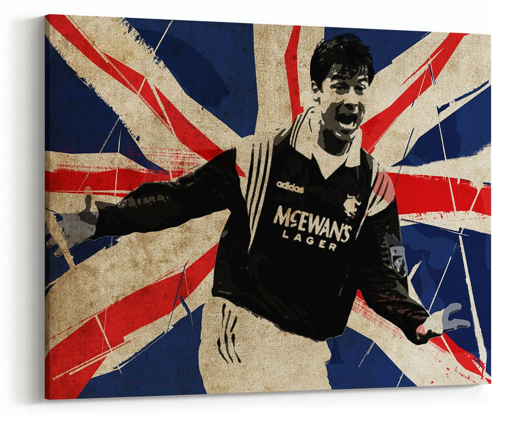 Image of Brian Laudrup Canvas