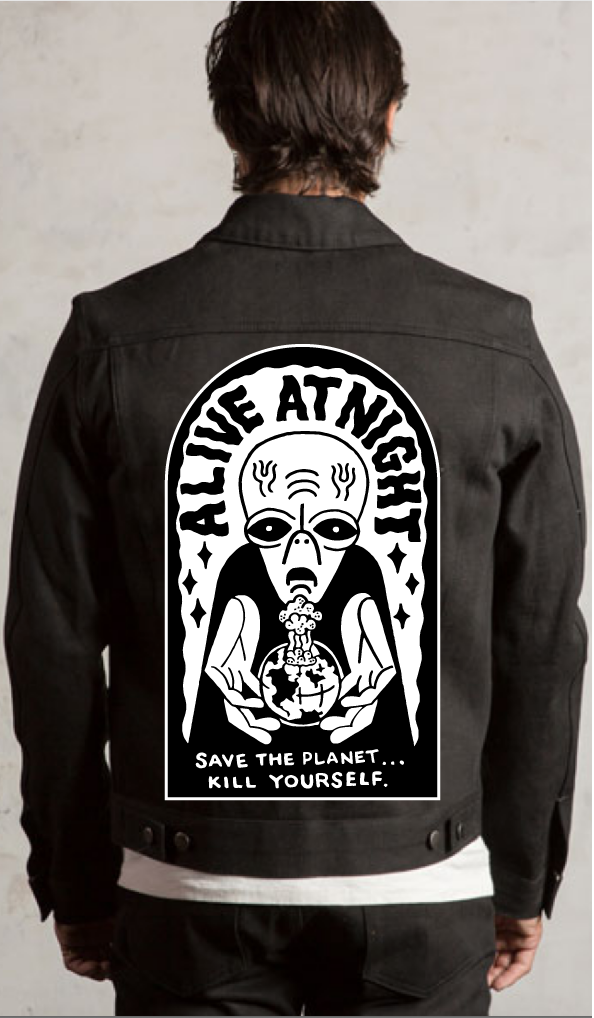 Image of Save The Planet Back Patch