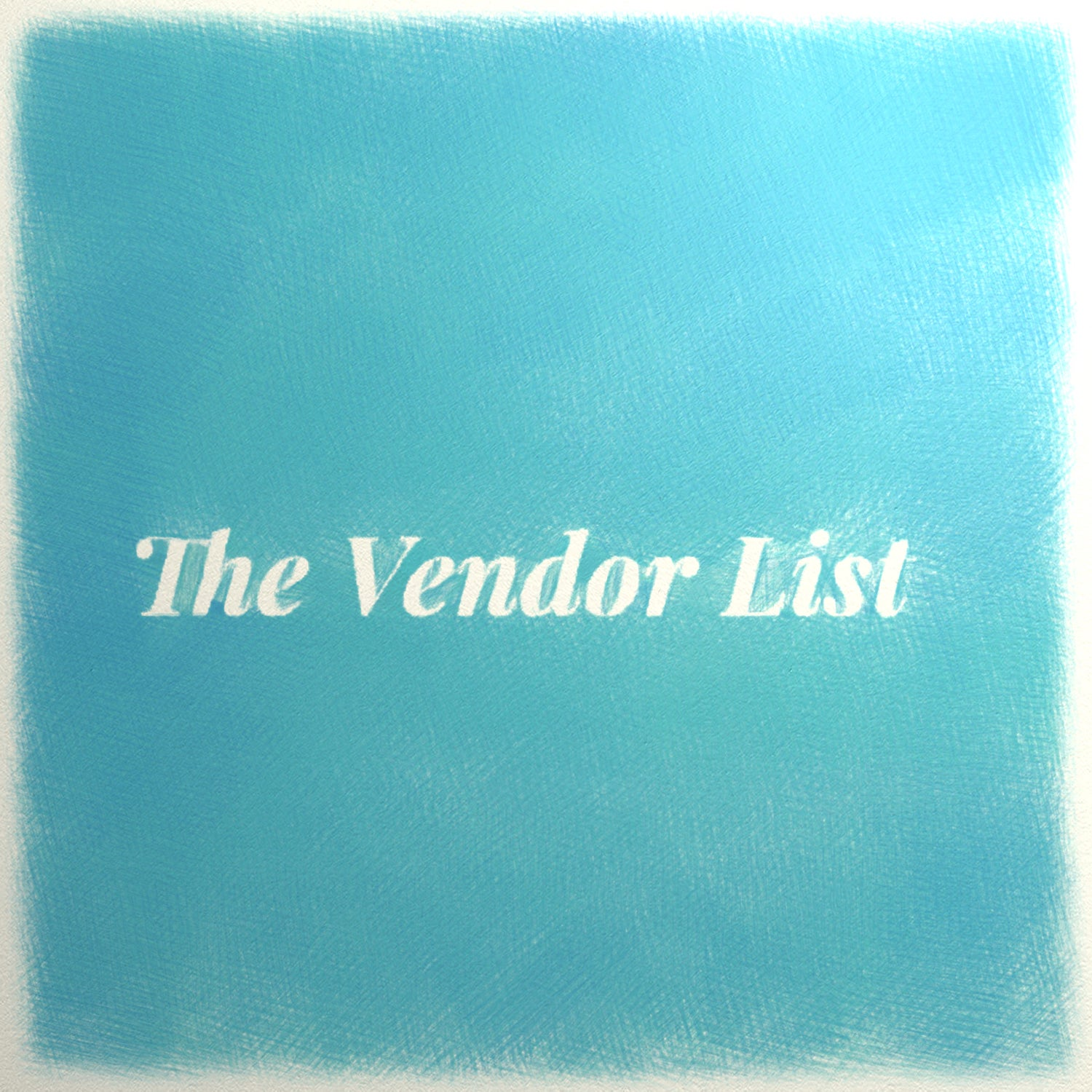Image of The Vendor List