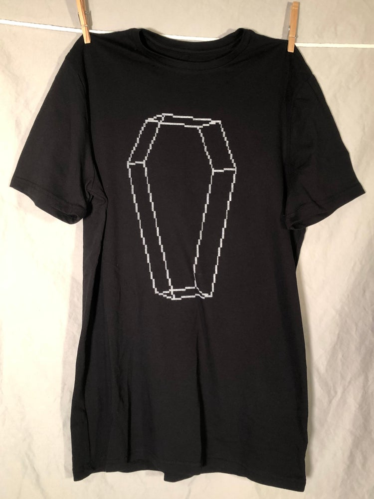 Image of Symphony of the Night Coffin Shirt