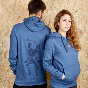 Image of Friends Forever Unisex  Denim Hood (Organic)