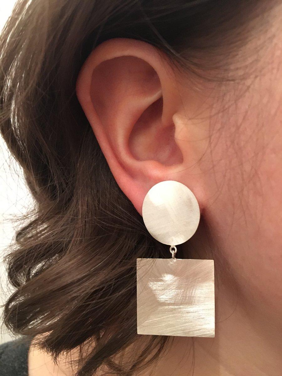 Image of ABC Dangle Earrings