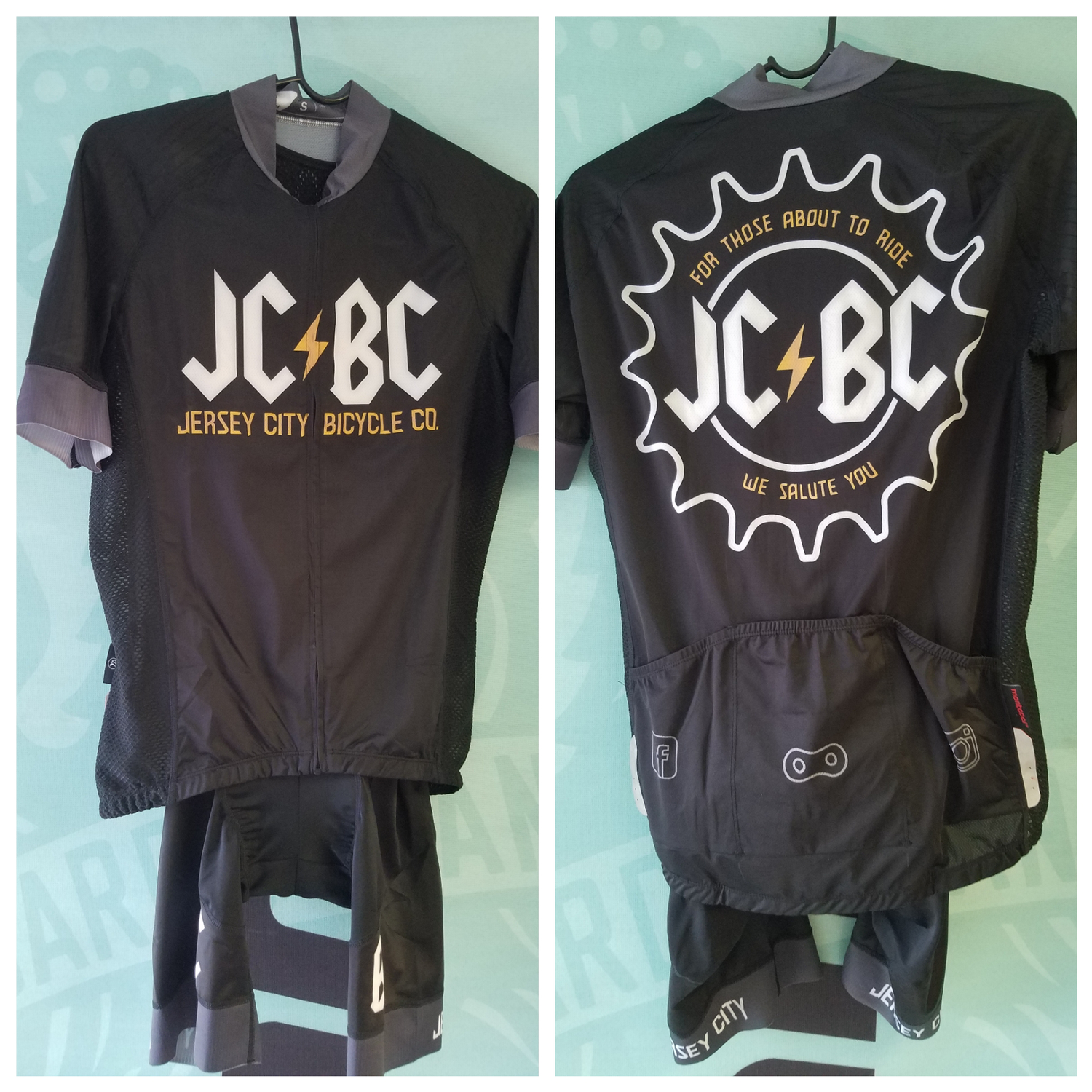 Image of JCBC Pro Cycling Jersey & Bib Ltd