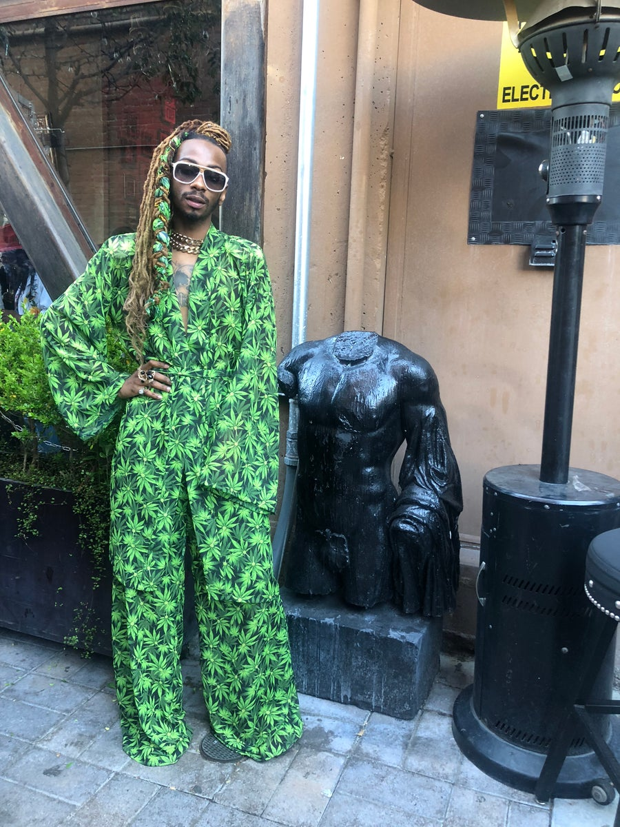 Image of Your 'Highness' Robe + Wide Leg Pants