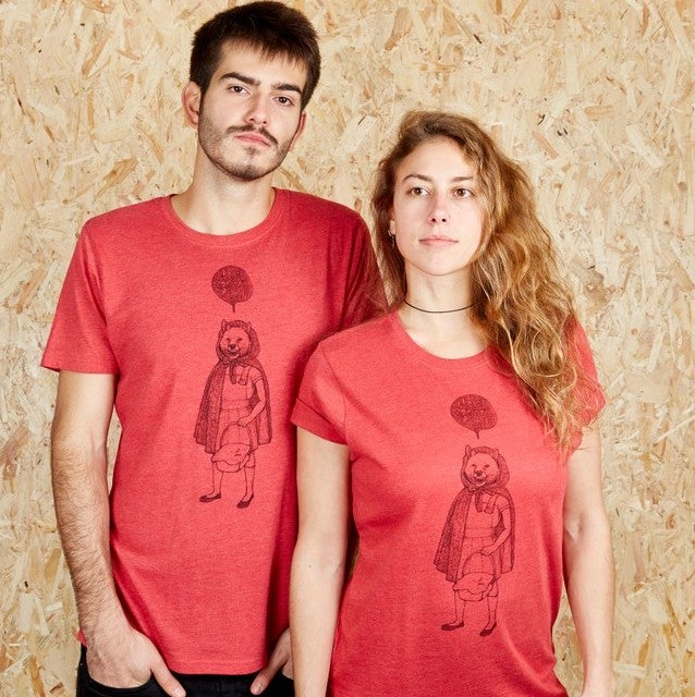RedHood Unisex Red T-shirt (Recycled)