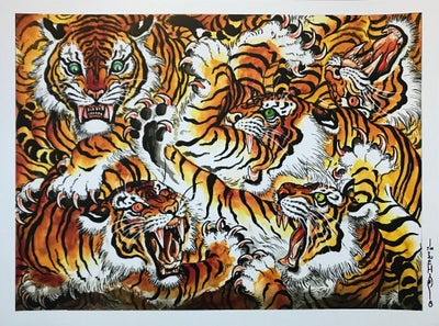 "Image of Tim Lehi ""Rumble in Tiger Town"" Signed Poster"