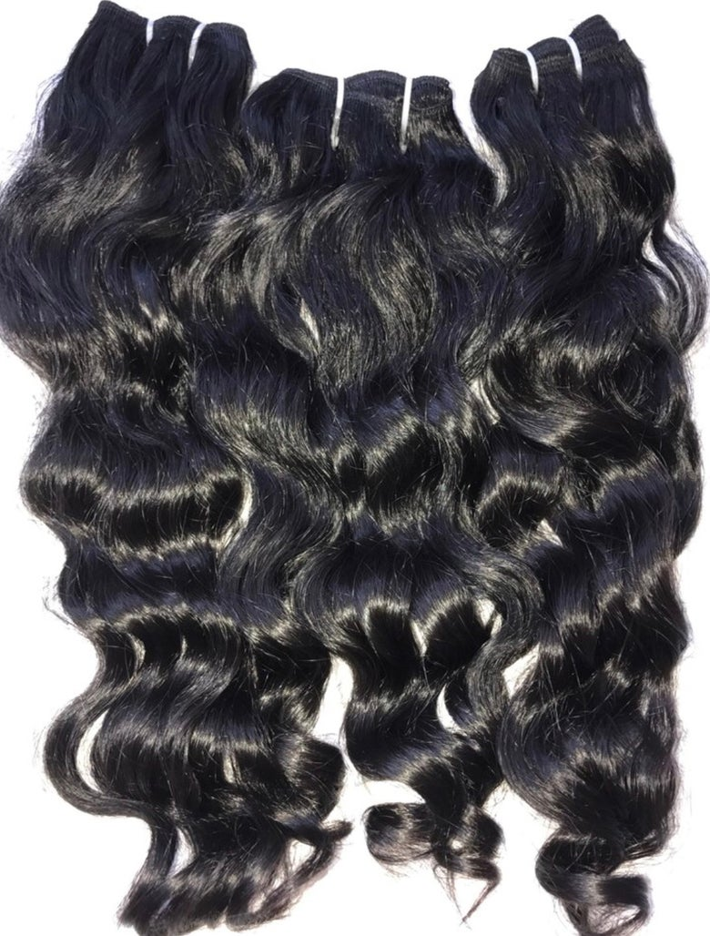 Image of Raw Indian Wavy Hair Bundle Deal