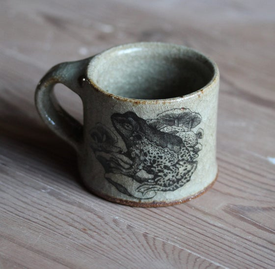 Image of (PRE ORDER) Frog and Wren. Espresso mug.