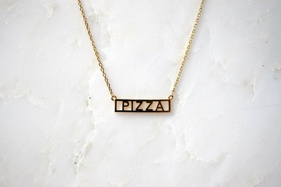 Image of Pizza Necklace