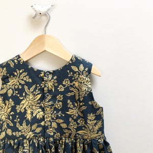 Image of Gold Sparkle Party Dress