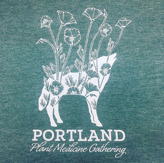 Image of Plant Medicine benefit t-shirt!