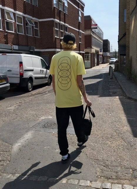 Image of Staple T-Shirt - Pastel Yellow/Grey